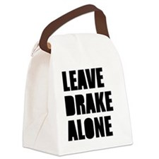 Leave Drake Alone Canvas Lunch Bag