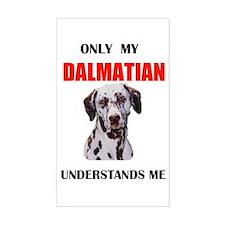 MY DALMATIAN Rectangle Decal