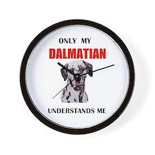 MY DALMATIAN Wall Clock