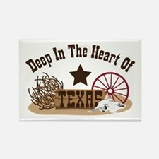 Deep In The Heart Of TEXAS Magnets