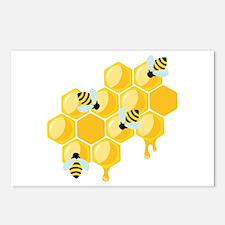 Honey Beehive Postcards (Package of 8)