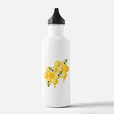 Honey Beehive Water Bottle