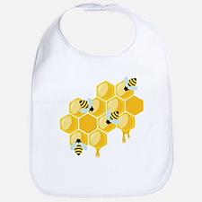 Honey Beehive Bib