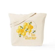 Bee Charmer Tote Bag
