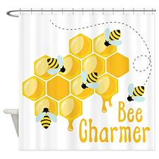 Bee Charmer Shower Curtain