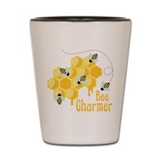 Bee Charmer Shot Glass