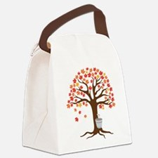 Maple Syrup Tree Canvas Lunch Bag