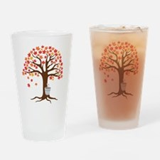 Maple Syrup Tree Drinking Glass