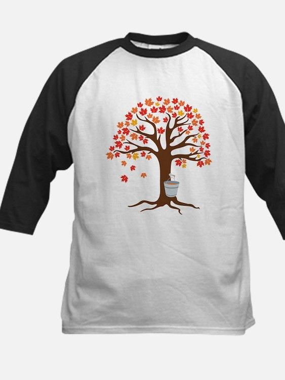 Maple Syrup Tree Baseball Jersey