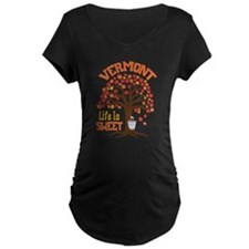 VERMONT Life Is SWEET Maternity T-Shirt