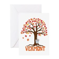 VERMONT Greeting Cards
