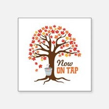 Now ON TAP Sticker