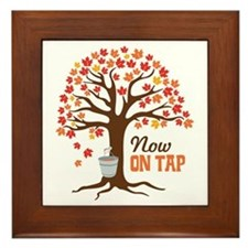 Now ON TAP Framed Tile