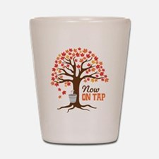 Now ON TAP Shot Glass