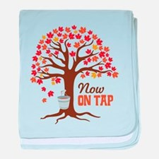 Now ON TAP baby blanket