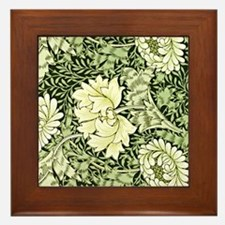 Morris - Chrysanthemum Framed Tile