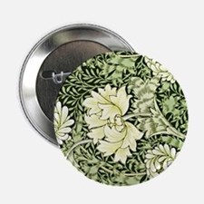 "Morris - Chrysanthemum 2.25"" Button"