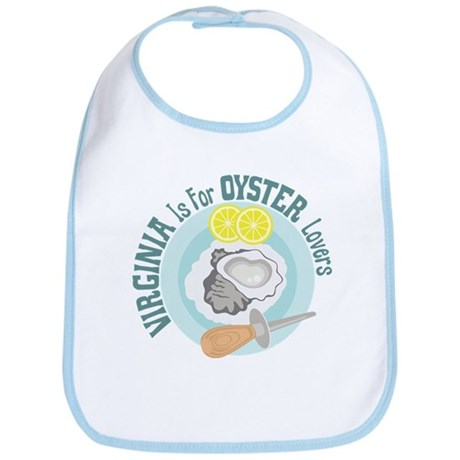 VIRGINIA Is For OYSTER Lovers Bib