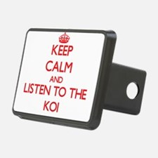 Keep calm and listen to the Koi Hitch Cover