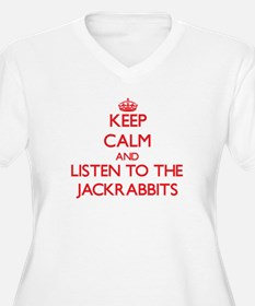 Keep calm and listen to the Jackrabbits Plus Size