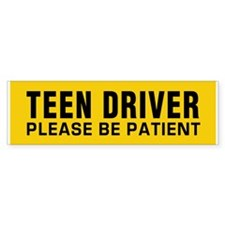 Teen Driver - Be Patient Sticker (Bumper 10 Pk)
