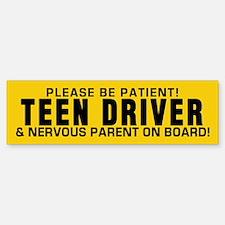 Teen Driver And Parent (bumper 10 Bumper Bumper Bumper Sticker