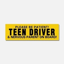 Teen Driver And Parent Car Magnet 10 X 3