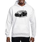 Caliber B&W Hooded Sweatshirt