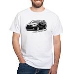 Caliber B&W White T-Shirt