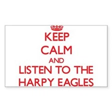Keep calm and listen to the Harpy Eagles Decal