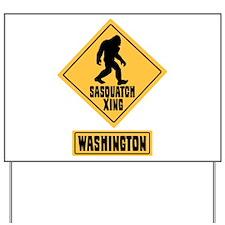 SASQUATCH CROSSING WASHINGTON Yard Sign