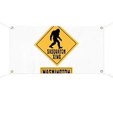 SASQUATCH CROSSING WASHINGTON Banner