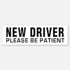 New Driver (bumper) Bumper Bumper Bumper Sticker