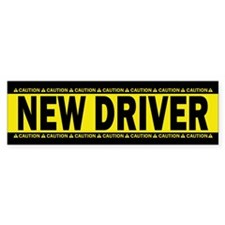 New Driver! Caution! Sticker (Bumper 10 Pk)