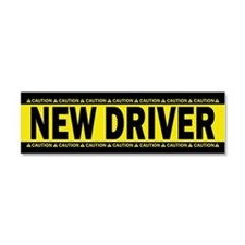 New Driver! Caution! Car Magnet 10 X 3