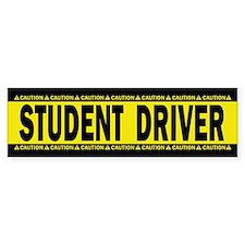 Student Driver! Caution! Bumper Sticker