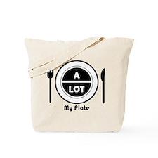 My Plate Tote Bag