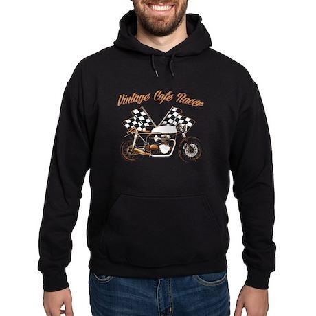 Vintage Cafe Racer Hoodie (dark)