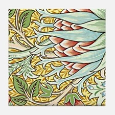 William Morris design, Artichoke Tile Coaster