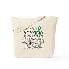 Liver Cancer Strong Survivor Tote Bag