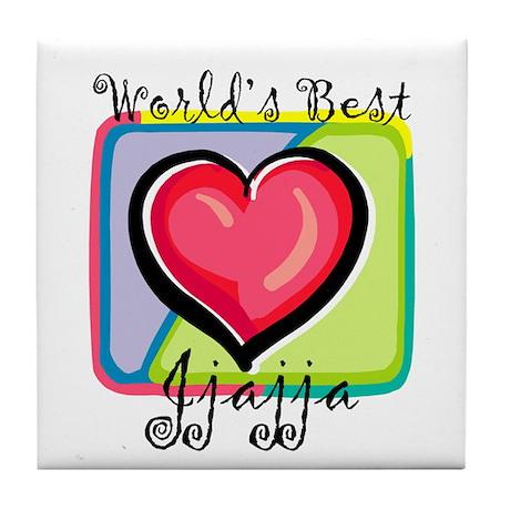 WB Grandma [Luganda] Tile Coaster