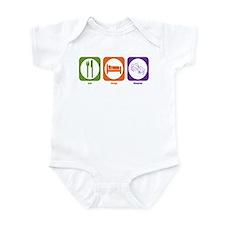 Eat Sleep Theater Infant Bodysuit