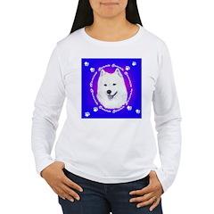 Samoyed & Paw Prints T-Shirt