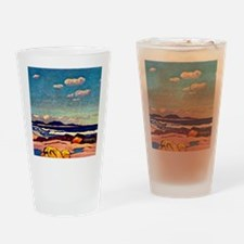 Seashore, Nova Scotia, painting by  Drinking Glass