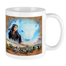 White Buffalo Mugs
