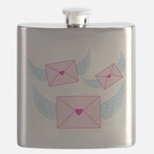 Heart Letters Flying Flask