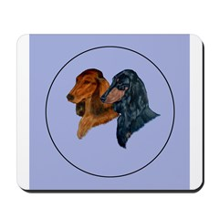 Dachshund Duo Mousepad