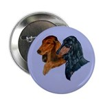 Dachshund Duo Button