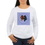 Dachshund Duo Women's Long Sleeve T-Shirt