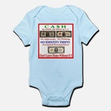 CASH Infant Bodysuit